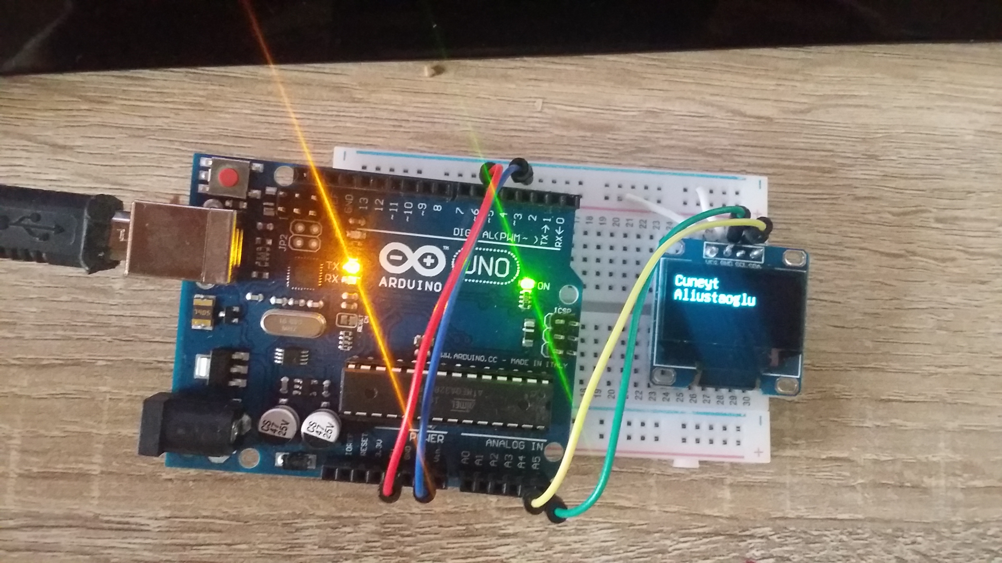 Introduction to U8Glib using Arduino UNO and OLED 128x64 I2C