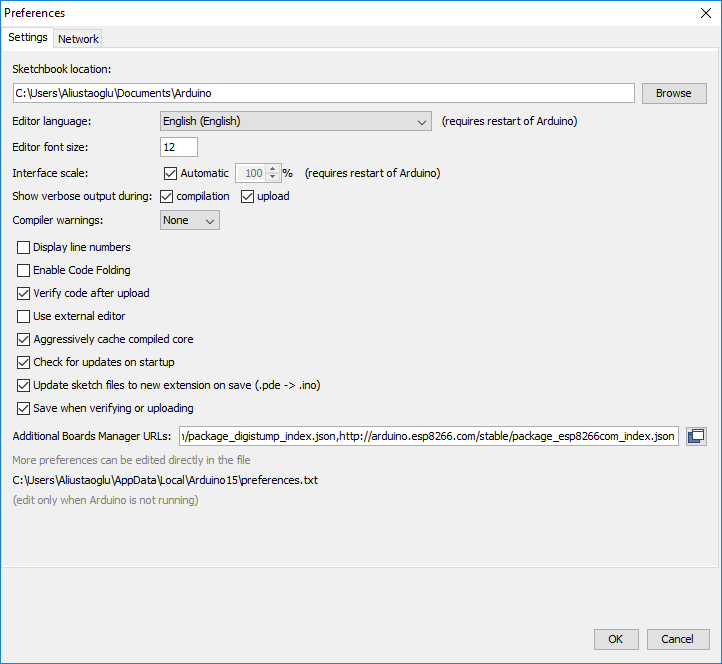 Installing ESP-32 on Arduino IDE (Windows, Mac, Linux)