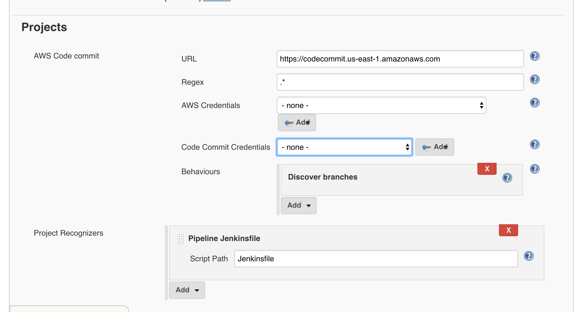 Using Jenkins with AWS CodeCommit