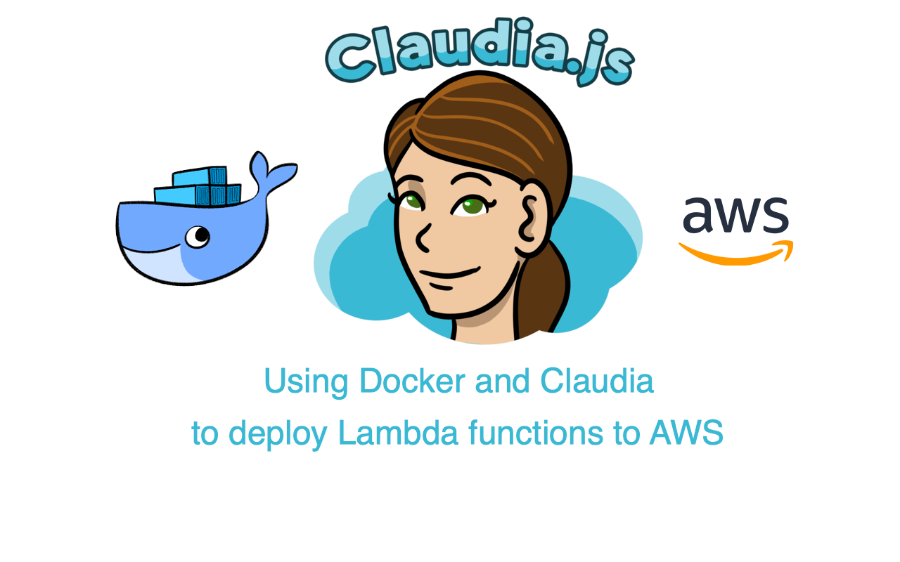 Using Docker and Claudia js to deploy Lambda functions to AWS